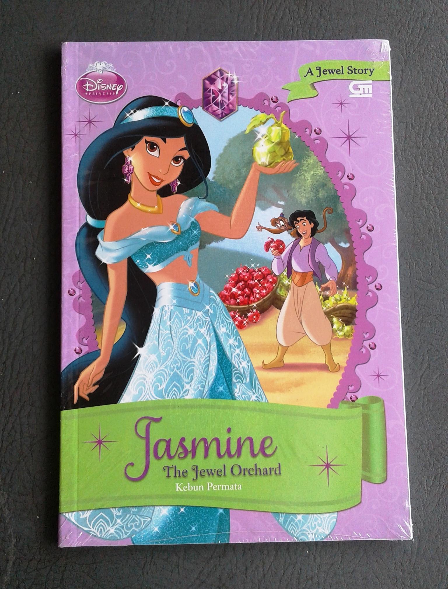 SALE! Buku Cerita Disney Princess Jasmine-The Jewel Orchard