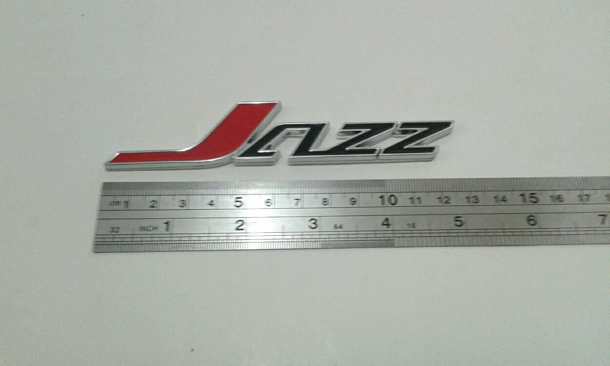 Emblem Honda Jazz Ekslusif