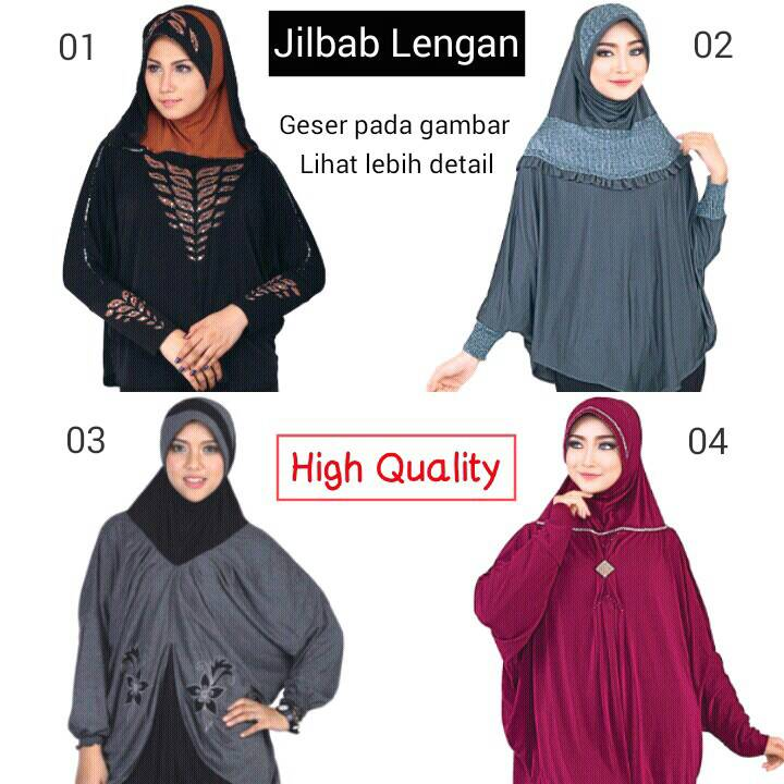 Jilbab Hijab Modern | Jilbab Lengan | Nuhijab Elzatta Rabbani Pashmina