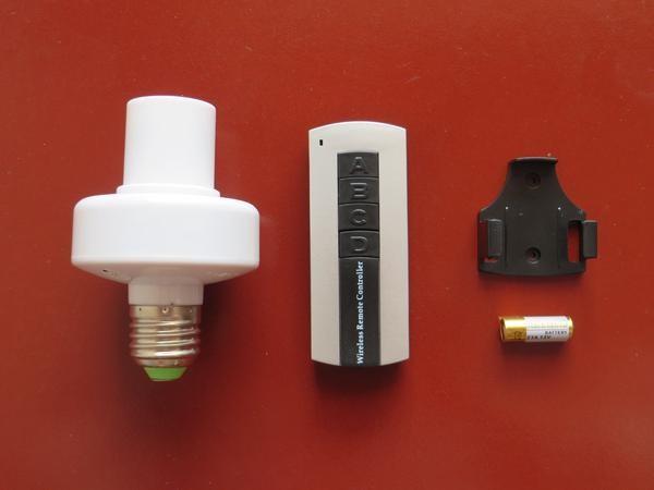 Jual Generic AC 220V E27 Lampu Rumah Remote Control Wireless Baru  