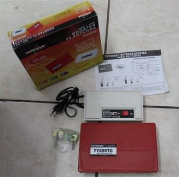 Jual BOSTER ANTENA TV / Penguat Sinyal Antena Tv Baru | Aksesoris TV