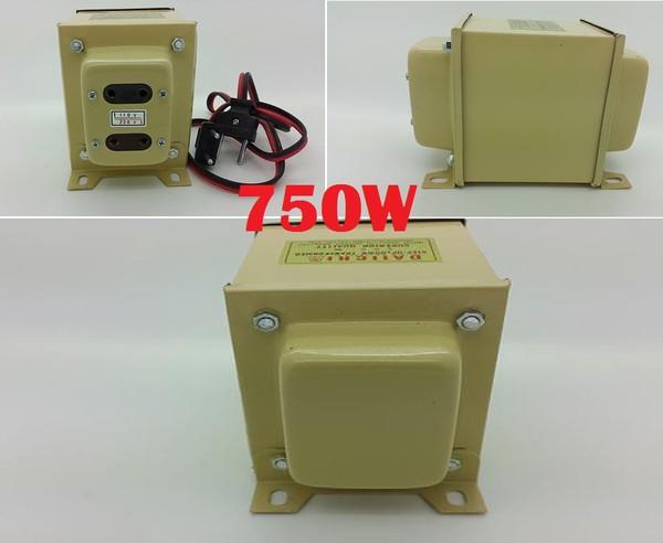 Jual STEP UP & DOWN 220V / 110V TRANSFORMER DAIICHI 750W, Step D