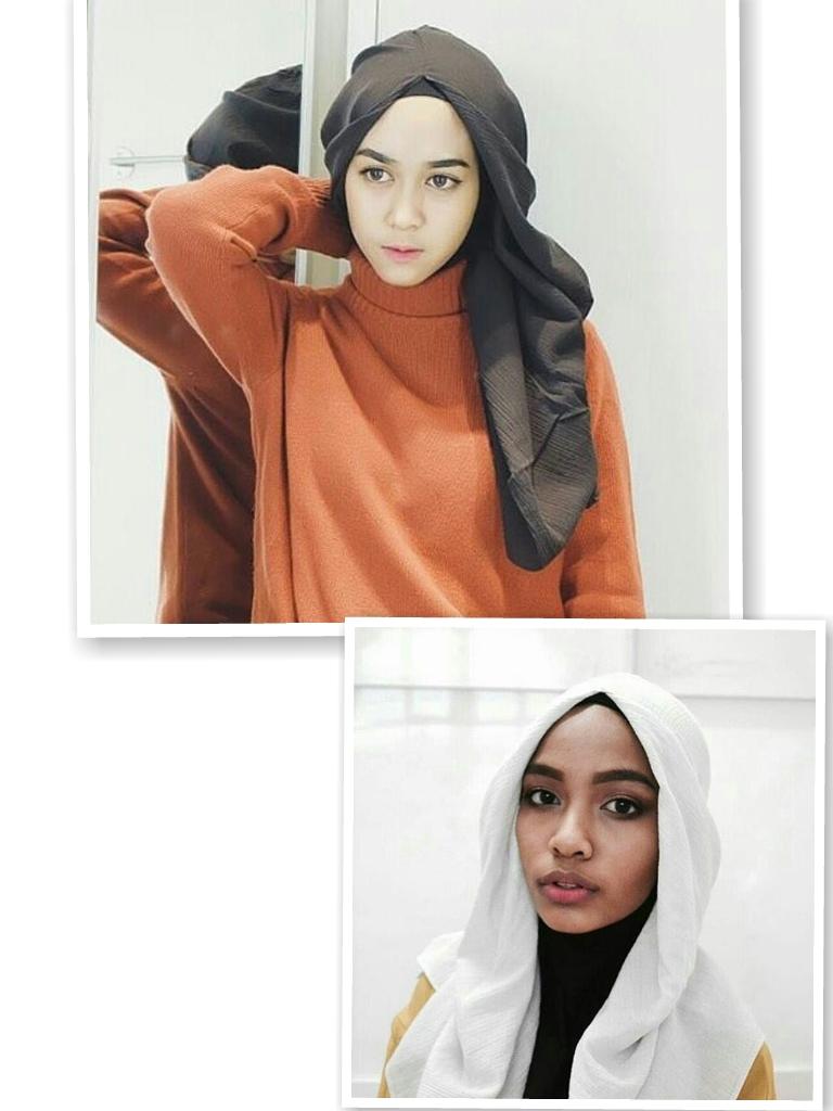 Hanatajima Hijab One Tone