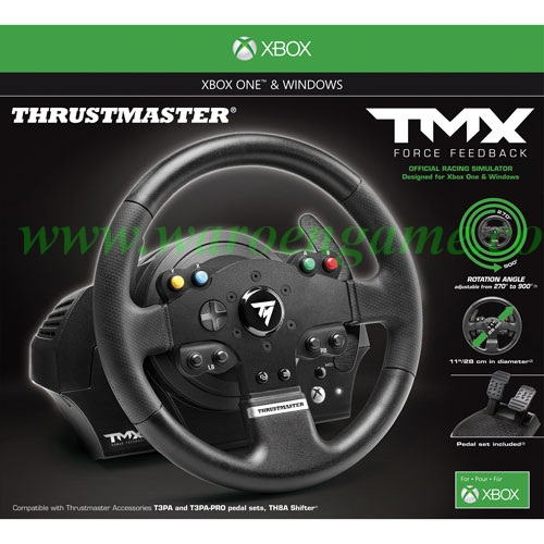 jual xbox one pc thrustmaster tmx force feedback racing wheel waroengame tokopedia. Black Bedroom Furniture Sets. Home Design Ideas