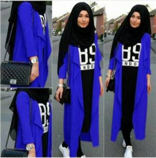 hijab 89 navy
