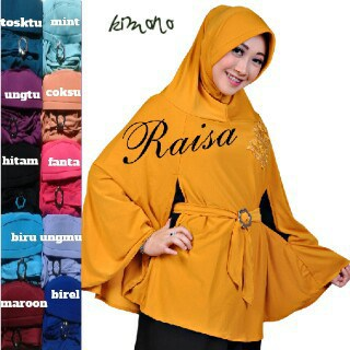 Terbaru>>>Hijab Kimono Instan