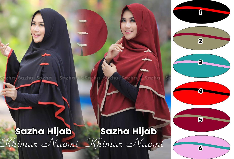 jilbab / hijab khimar naomi