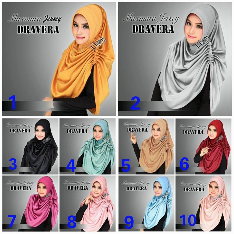 Hijab/Jilbab Kerudung Syria Dravera