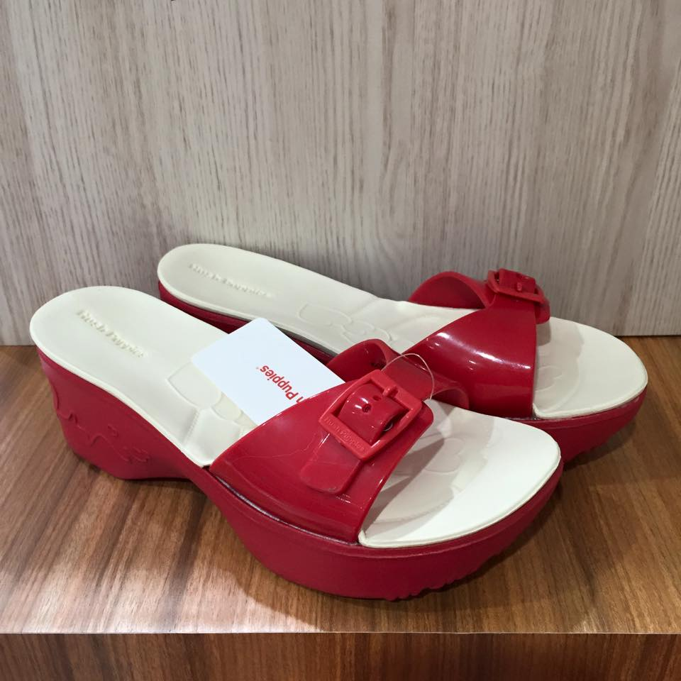Jual Sandal Wanita Original Hush Puppies Lolly Pop Red - HECC ... 7a18cfe67a