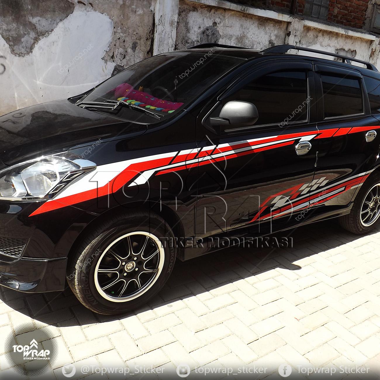 Jual Striping Mobil Datsun Sporty Toko Stiker Mobil Tokopedia