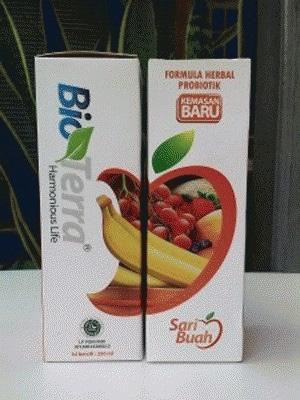 bioterra sari buah probiotik