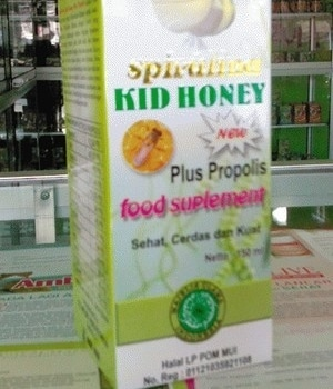 spirulina kids honey