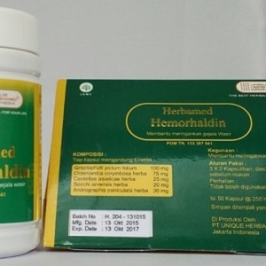 hemorhaldin herbal meringankan gejala wasir