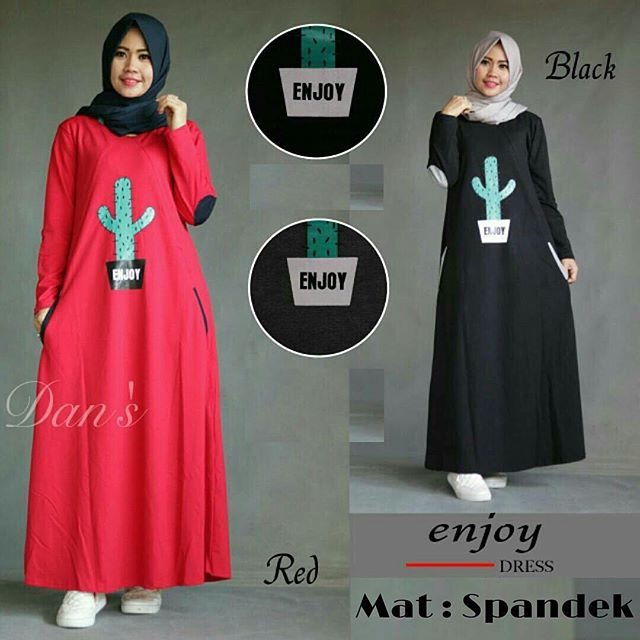 Baju Hijab Murah Enjoy Dress