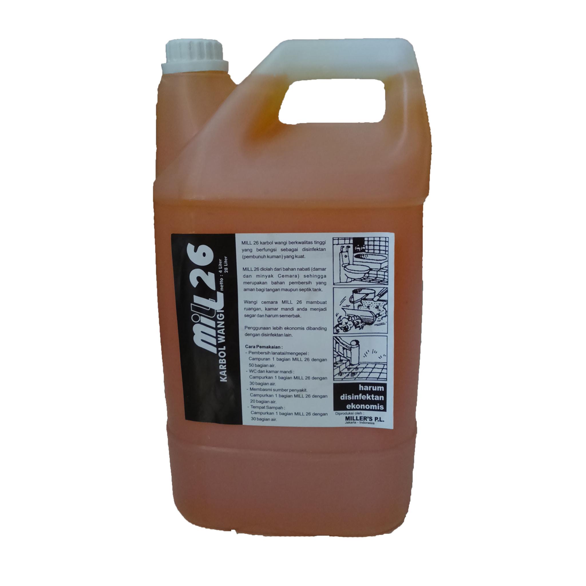 MILL Karbol Wangi 4 Liter - Blanja.com