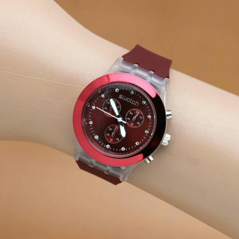 Jual Jam Tangan Wanita Swatch Swiss Guess Rolex Lv Di