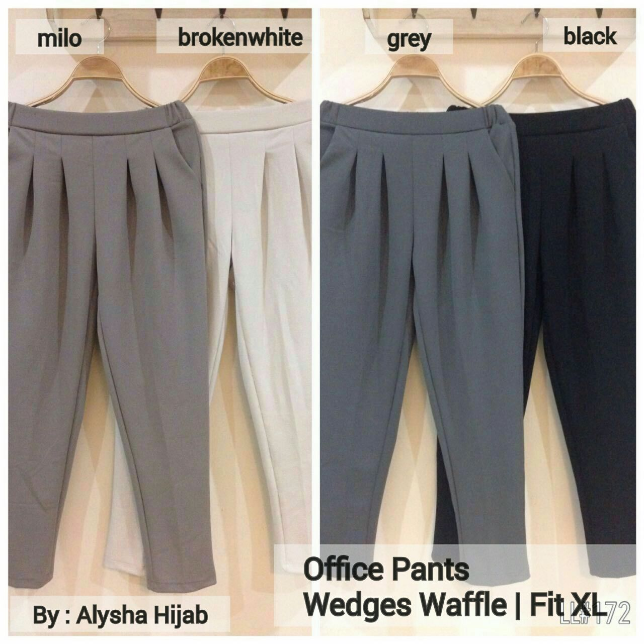 SUPPLIER BAJU HIJAB OFFICE PANTS