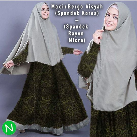 9304-maxi aisyah hijab