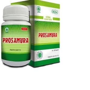 kapsul prosamura hiu herbal asam urat rematik 60 k