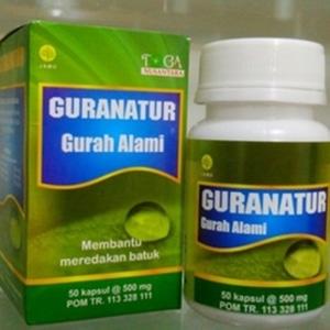 guranatur gurah alami herbal pereda batuk sinus d 1