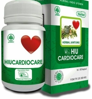 hiu cardiocare herbal kesehatan jantung