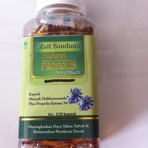 habasyi propolis zait saudana 120 kapsul