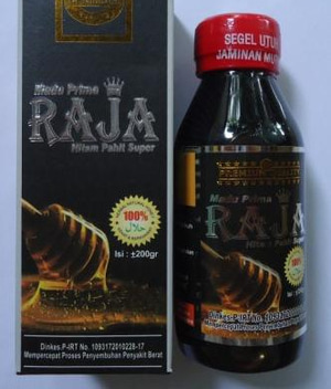 madu prima raja hitam pahit super 200 gram 1