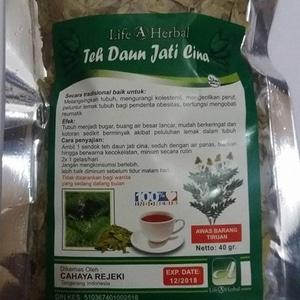 teh daun jati cina life herbal