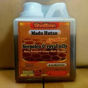 madu hutan kalimantan gholiban plus bee pollen roy