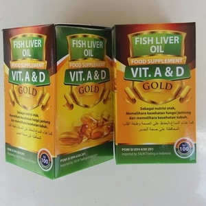 minyak ikan fish oil gold omega 3 plus 1
