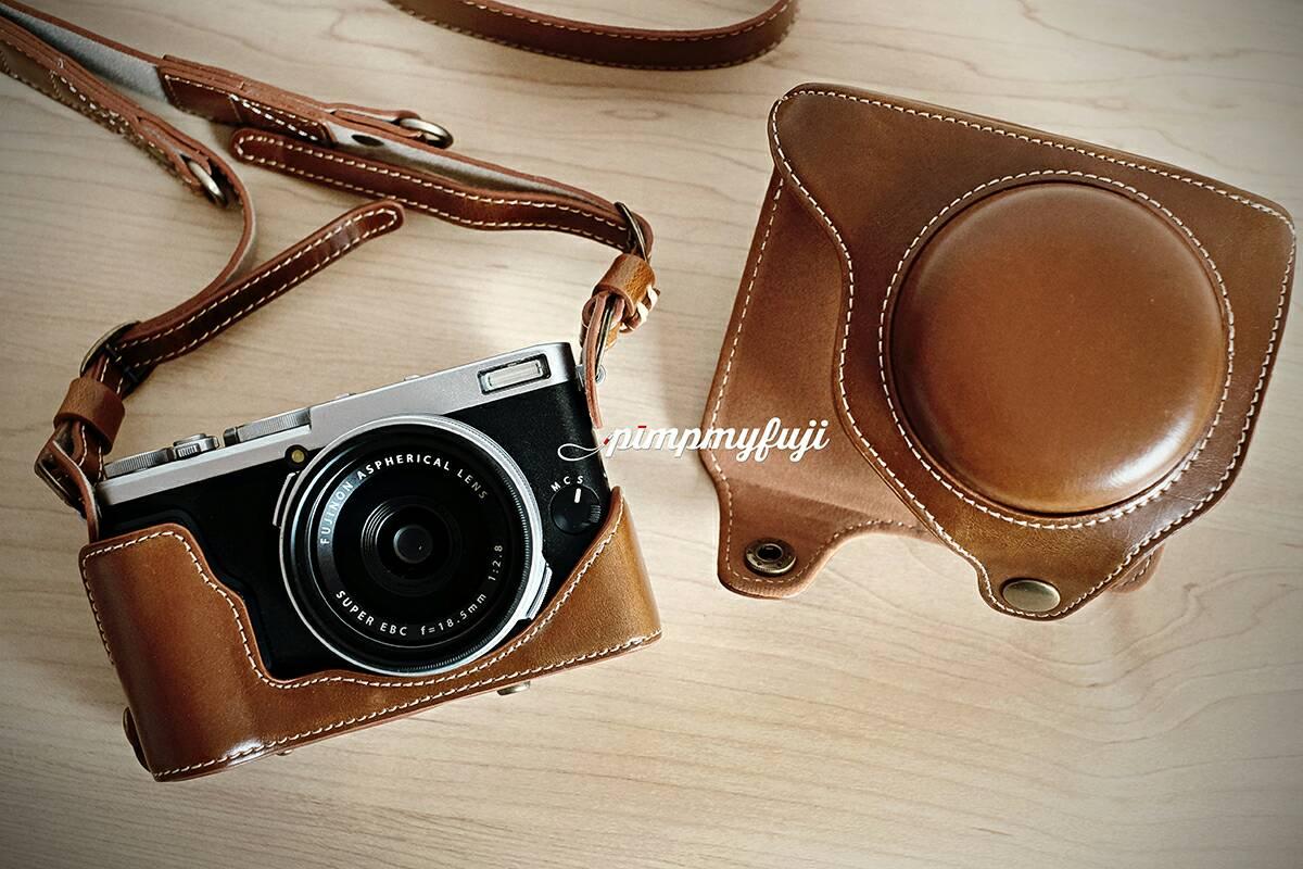 Jual Case Fuji X70 Premium Light Brown Pimp My Tokopedia Fujifilm Digital Camera Paket