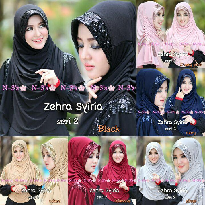 Hijab / Khimar / Jilbab Zehra Syria