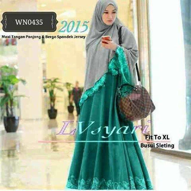 Baju Hijab Murah Lv Tosca Syari