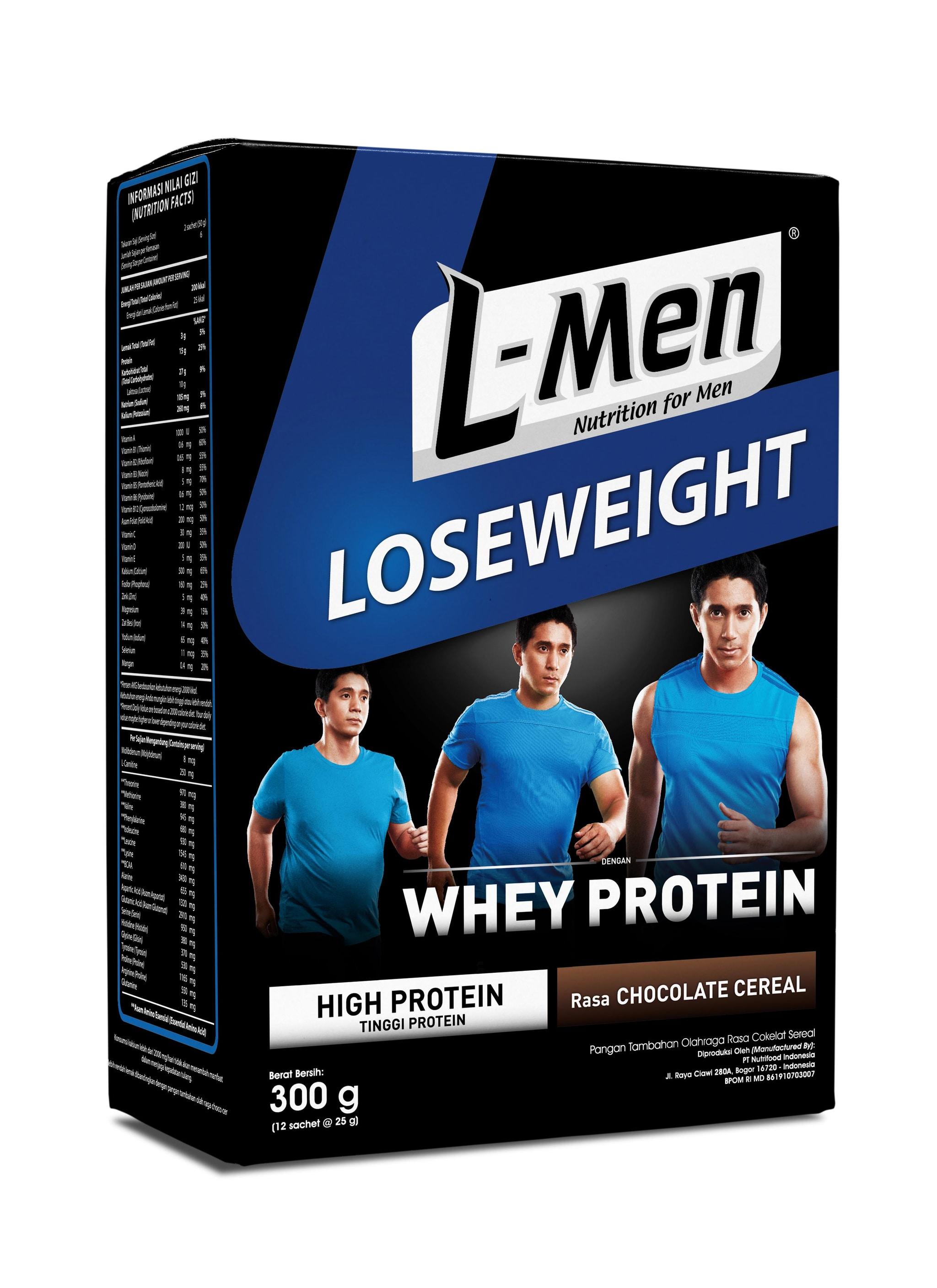 Jual L-Men Lose Weight Chocolate Cereal - NutriMart ...