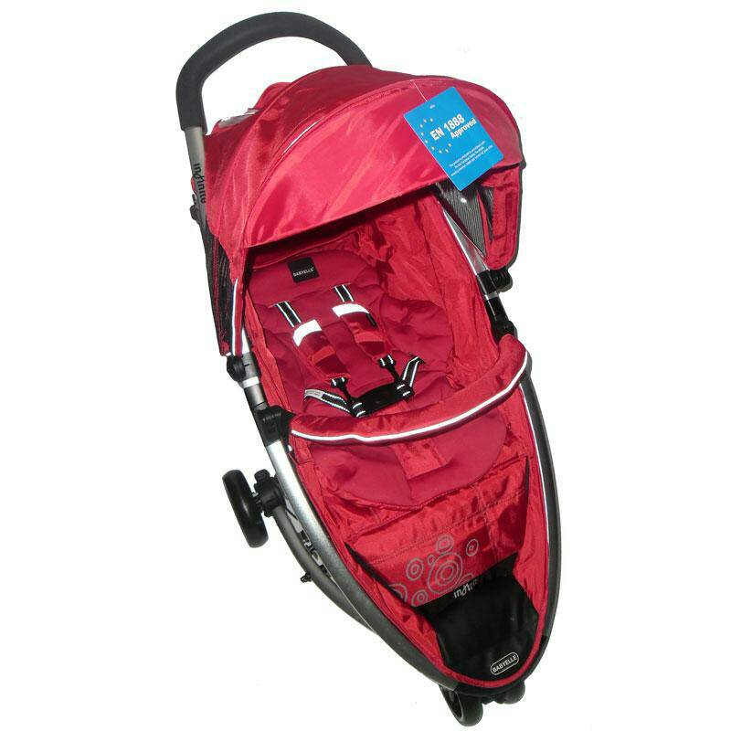 stroller BabyElle Infinite s800 Dark Red Murah