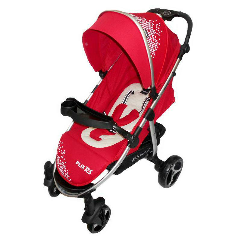 stroller BabyElle Flix RS 701 red.blue.purple.cofee Murah