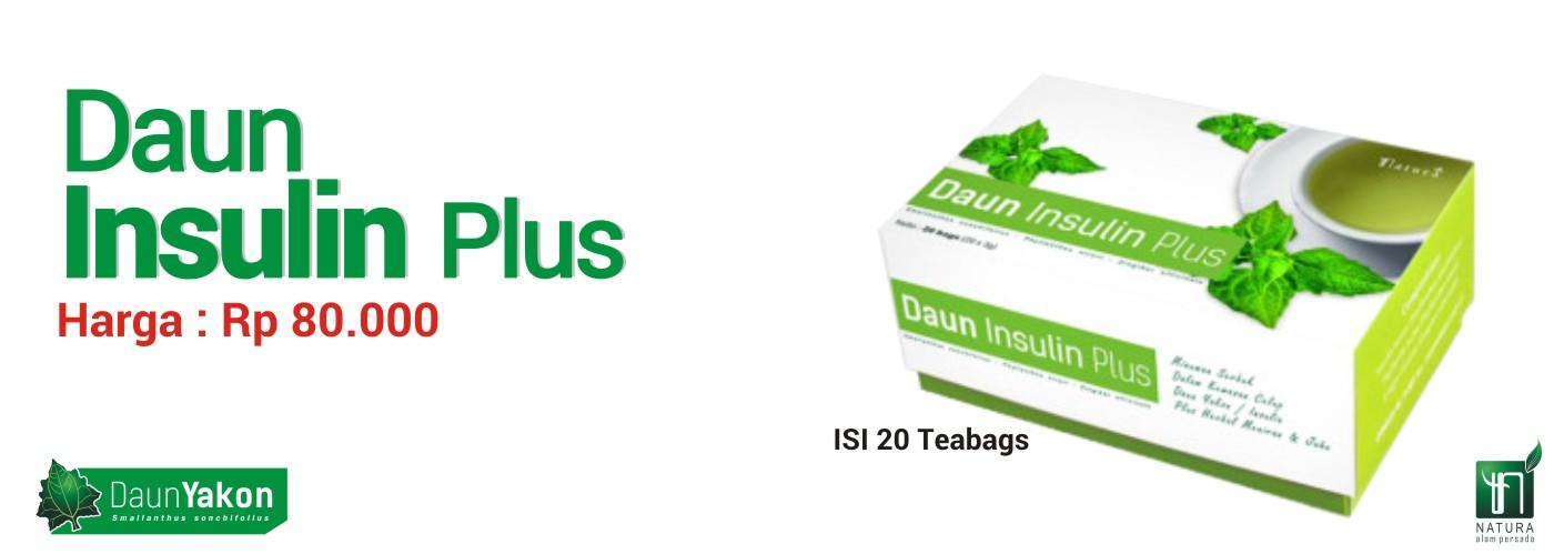 Jual Daun Insulin Plus Teh Celup - alternatif MELABIC OBAT HERBAL DIABETES - Febryan Paudi | Tokopedia