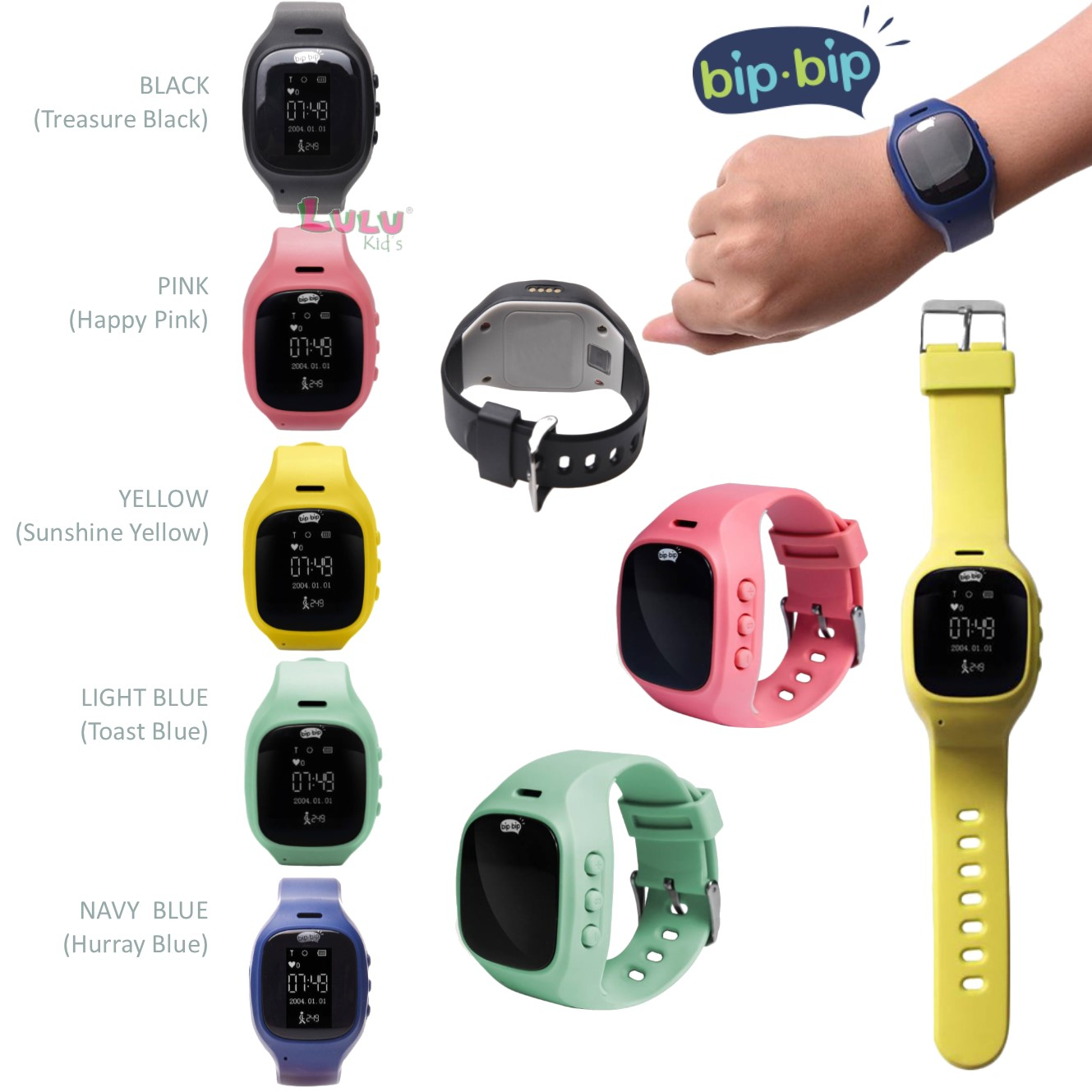 Bipbip Family's Guardian Smartwatch