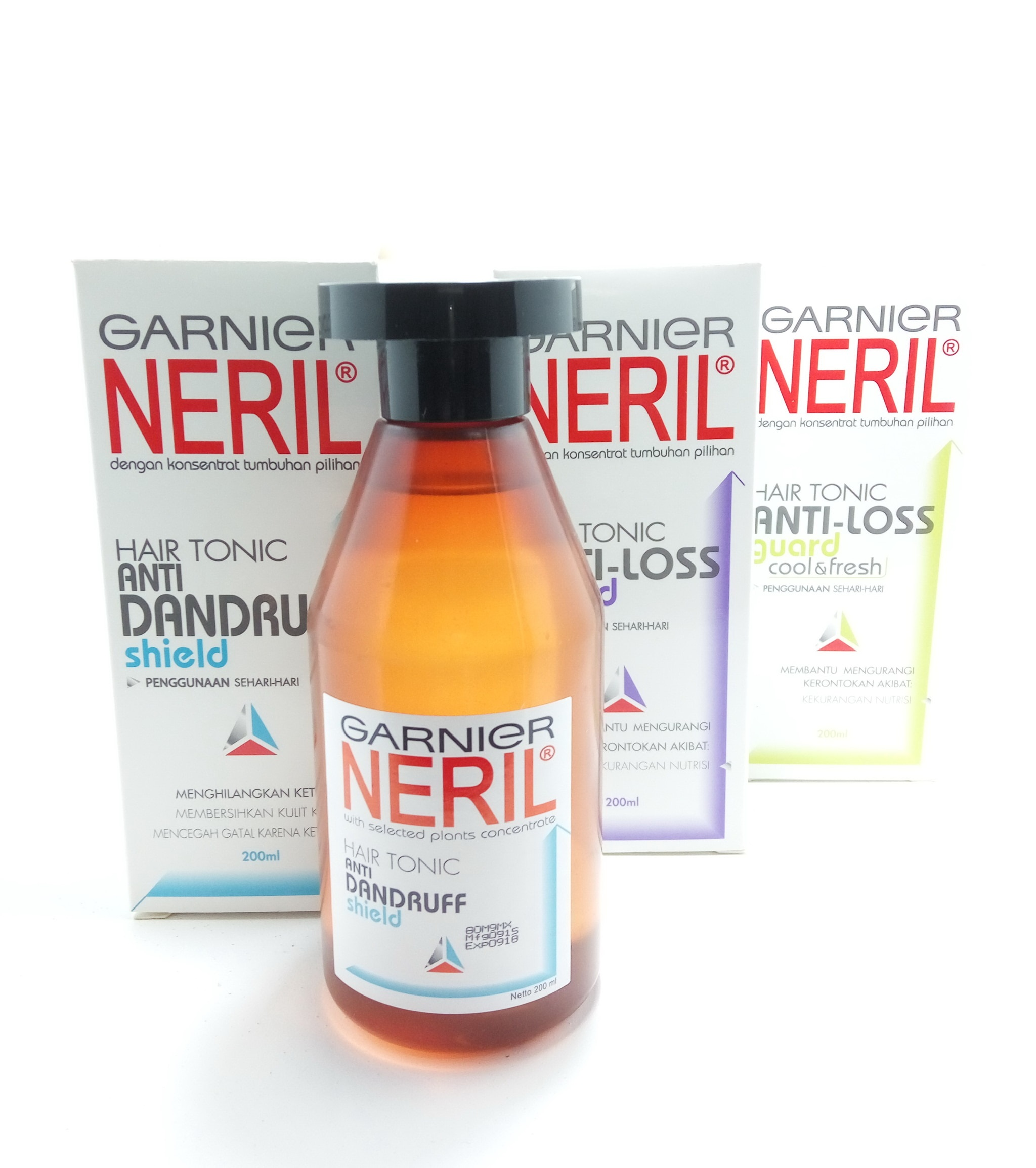Jual Neril Hair Tonic 200ml Anti Dandruff Nutrisi Rambut Ketombe Garnier Loss Guard 200 Ml Milky Way Shop Tokopedia