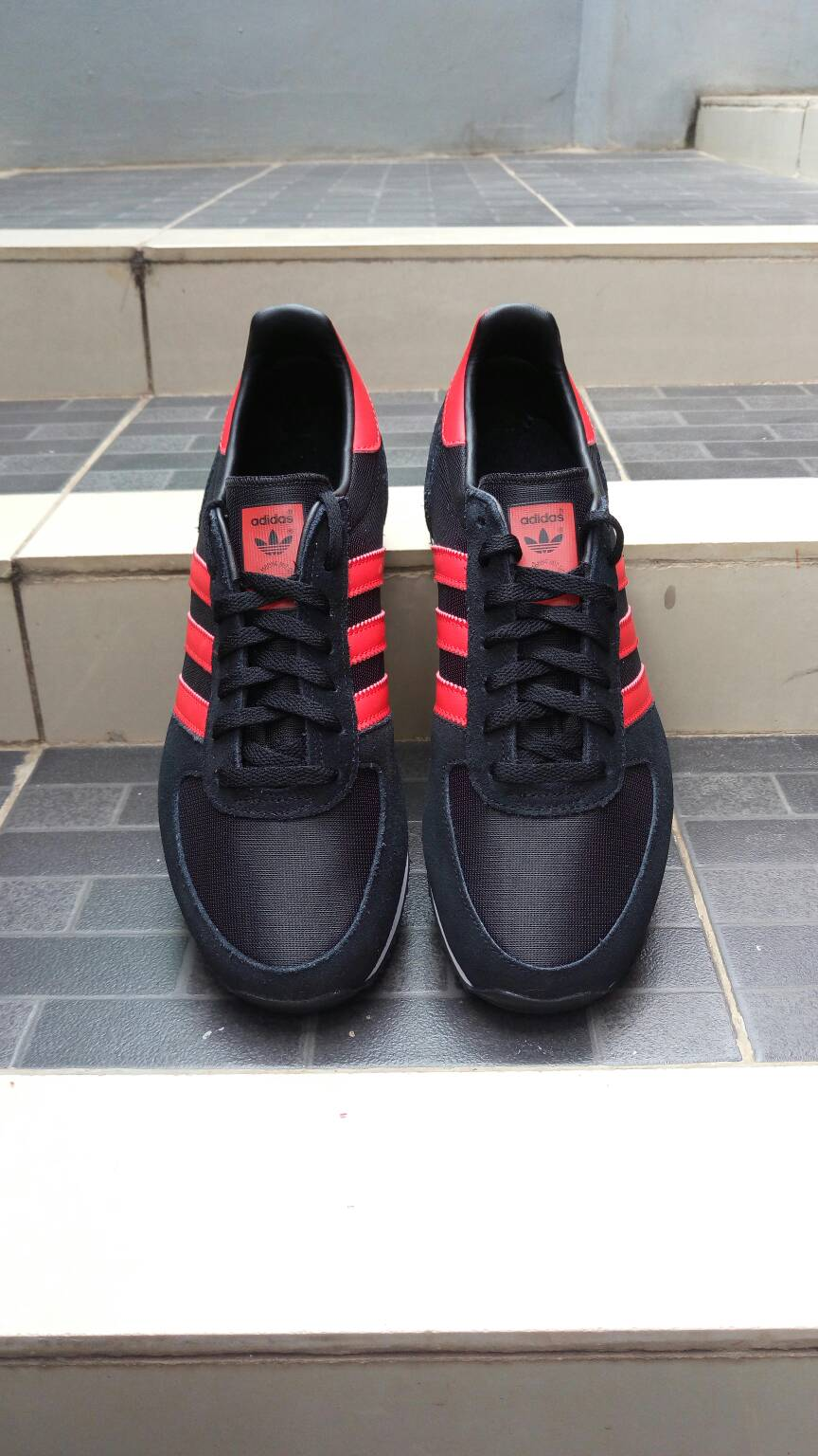 Adidas Zx Racer Black Red