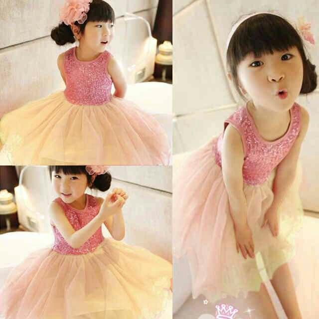 CIJ- XOXO kidie dress - DRESS ANAK