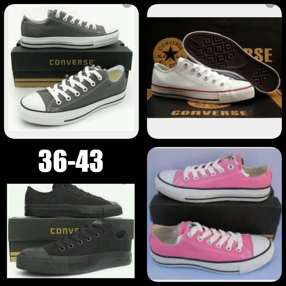 Jual grosir sepatu converse all star low grade ori  7b20e9ec44