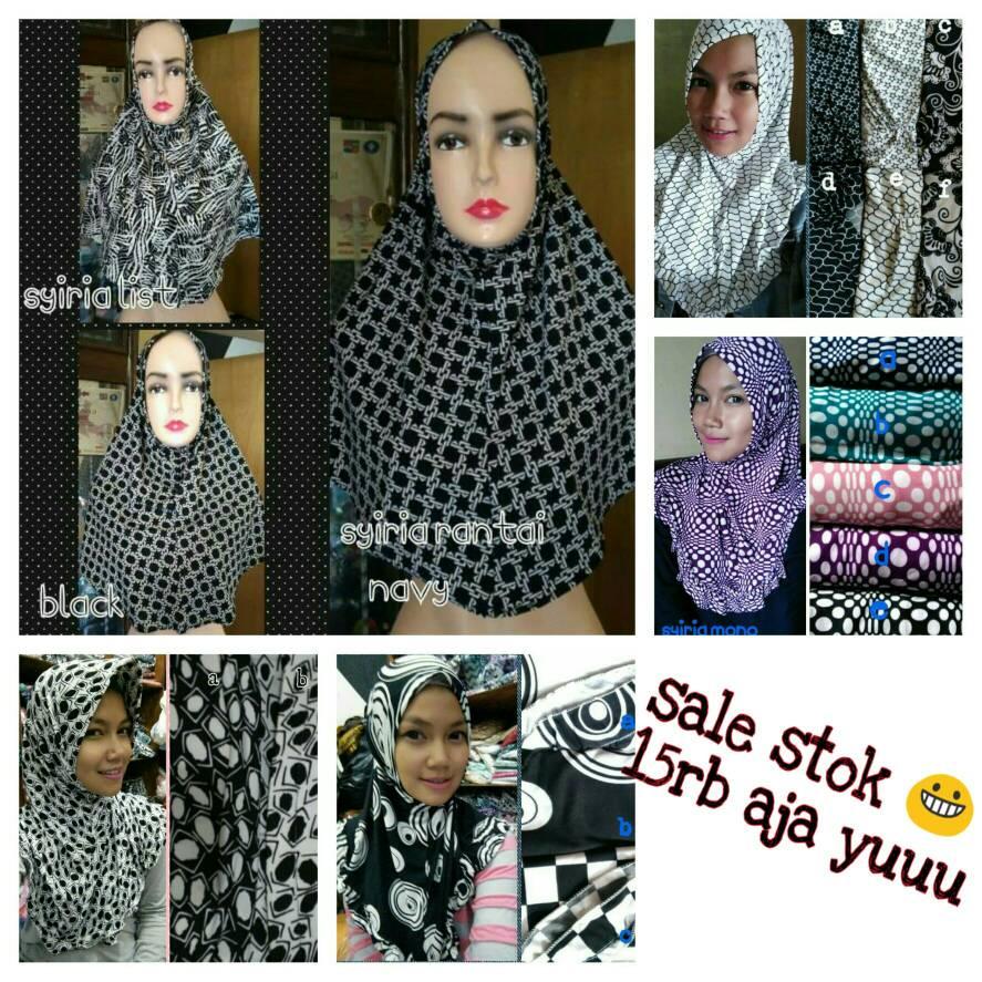 instan monochrome / hijab daily
