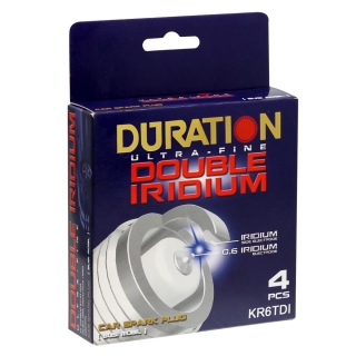 Busi DOUBLE IRIDIUM DURATION HONDA JAZZ VTEC