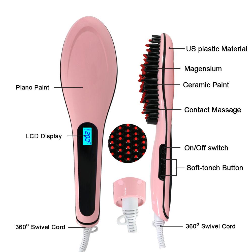Sisir Catok Fast Hair Straightener Daftar Harga Penjualan Terbaik Pianika Sj0038 Jual Pelurus Rambut Comb Straight Ziezieshoper Tokopedia