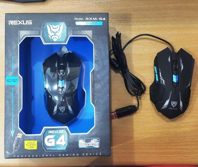 Jual Rexus Gaming Mouse G4