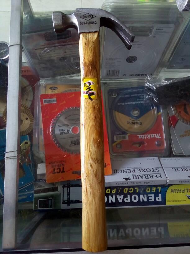 Palu Kambing Claw Hammer 8 Oz Gagang Kayu 8oz FUKUNG