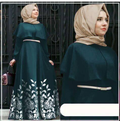 hijab andiani green