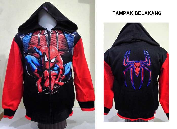 JKKDL54 - Jaket Anak Laki New Spiderman