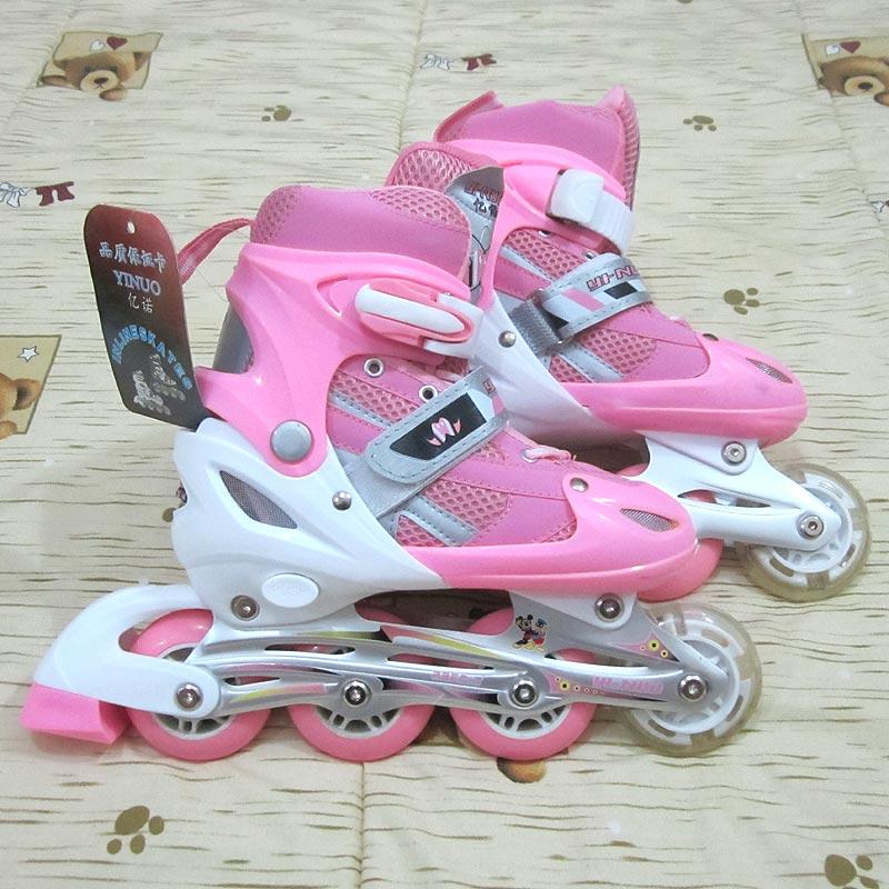 Jual Sepatu Roda Inline Skate Bisa Menyesuaikan Ukuran Kaki ... 81bcc50436